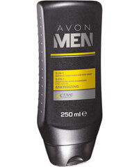 Avon Sprchový gel 3 v 1 Men Energizing (3-In-1 Shampoo, Conditioner And Body Wash) 250 ml