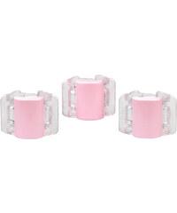 Linziclip Malý skřipec MINI 3 ks - perleťově liliový