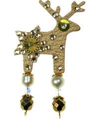 Deers Malá zlatá brož Sarrah