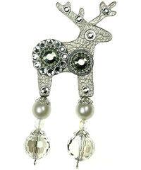 Deers Malá stříbrná brož Damien II.