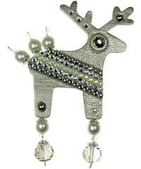 Deers Velký stříbrný jelínek Silverino