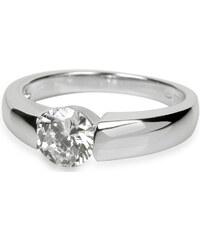 Silver Cat Stříbrný prsten s krystaly SC007