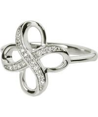 Silver Cat Stříbrný prsten s krystaly SC013