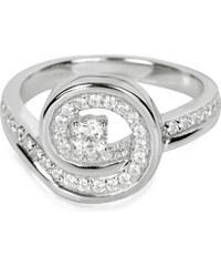 Silver Cat Stříbrný prsten s krystaly SC019