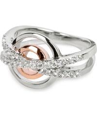 Silver Cat Stříbrný prsten s krystaly SC025