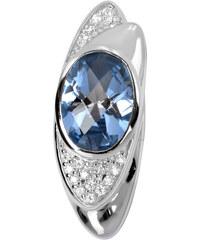 Silver Cat Stříbrný přívěsek s krystaly SC056