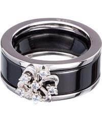 Preciosa Stříbrný prsten Novel Black 5151 20