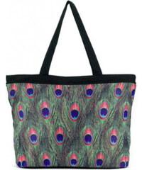 Blooming Brollies Stylová dámská taška Peacock Tote Bag GMTPEA