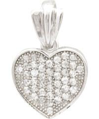 Zuzu Stříbrný přívěsek Srdce EH010AG
