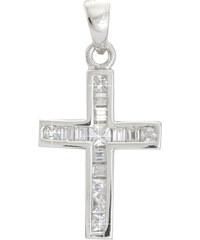 Zuzu Stříbrný přívěsek Křížek EH032AG
