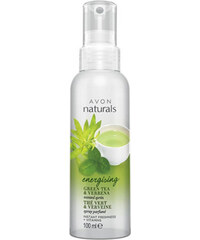Avon Tělový sprej se Zeleným Čajem a Verbenou Naturals Energising 100 ml