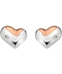 Hot Diamonds Náušnice Heart Gold DE425