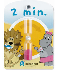 Miradent Přesýpací hodiny pro měření doby čištění zubů pro děti Miradent Sanduhr