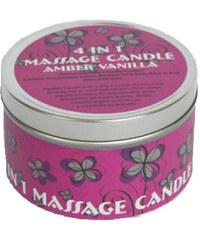 Brazil Keratin Masážní svíčka 4 v 1 (4 in 1 Massage Candle) 180 ml