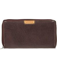 Lagen Dámská kožená peněženka 615197 Brown/Tan