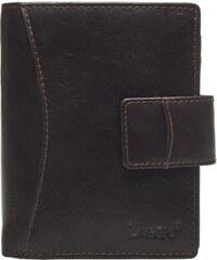 Lagen Dámská kožená peněženka 3808/T Dark Brown