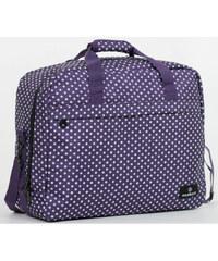 Member's Cestovní taška 40L SB-0036 fialová/bílá