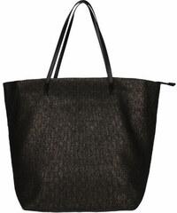 Invuu London Slaměná taška Black 15B0100-1