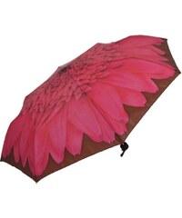 Blooming Brollies Dámský skládací mechanický deštník Artbrollies Pink Gerbera ARFGER