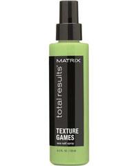 Matrix Slaný sprej na vlasy pro plážové vlny Total Results Texture Games (Sea Salt Spray) 125 ml