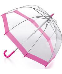 Fulton Dětský průhledný holový deštník Funbrella 2 Pink C603