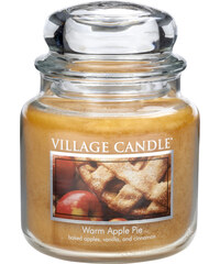 Village Candle Vonná svíčka ve skle Jablečný koláč (Warm Apple Pie) 454 g