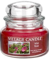 Village Candle Vonná svíčka ve skle Divoká růže (Wild Rose) 312 g