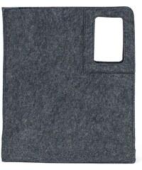 Art of Polo Dámské filcové MAXI psaníčko Business Clutch Grey - šedá tr15119.2