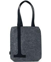 Art of Polo Dámská filcová kabelka Shopping Grey Black - šedá tr15120.5