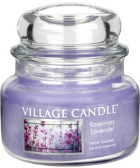 Village Candle Vonná svíčka ve skle Rozmarýn a levandule (Rosemary Lavender) 312 g