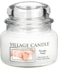 Village Candle Vonná svíčka ve skle Pudrová svěžest (Powder Fresh) 312 g