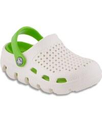 Coqui Dětské pantofle Bugy 6101 Pearl/Lime 100182