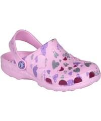Coqui Dětské pantofle Little Frog 8714 Pink 100339