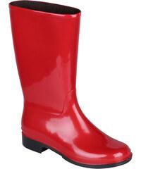 Coqui Dámské holínky Rainboot 8135 Red 100917
