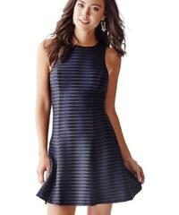 Guess Dámské šaty Rose Sleeveless Textured Dress