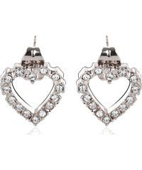 Vicca® Náušnice Easy Heart Crystal OI_405020