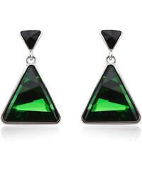 Vicca® Náušnice Triangle Green OI_441005_green