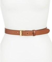 Ralph Lauren Dámský kožený opasek Vachetta Leather Belt Brown
