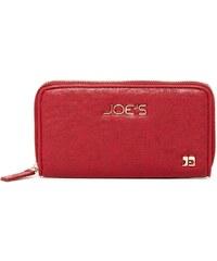 Joe´s Jeans Elegantní peněženka Autograph Perforated Wallet Red