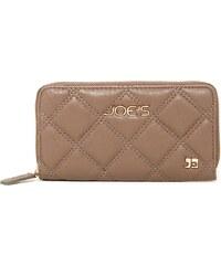 Joe´s Jeans Elegantní peněženka Diamond Quilt Wallet Taupe
