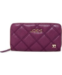 Joe´s Jeans Elegantní peněženka Diamond Quilt Wallet Purple