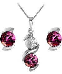 MHM Souprava šperků Sisi Amethyst 34212
