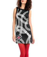 Desigual Dámské šaty Laila Negro 57V28E1 2000