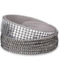 Troli Náramek Wrap Double Platinum