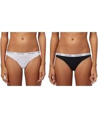 Calvin Klein Sada dámských kalhotek - tanga 3PK Bikini D1622E-WZB