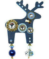 Deers Velká modrá brož Rimelia