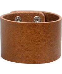 Wildskin Kožený náramek Simple Brown