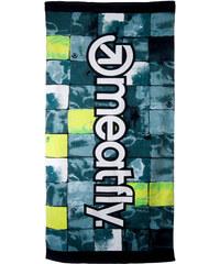 Meatfly Osuška Towels B - Watter Checks Green