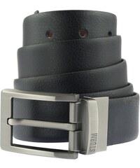 Storm Pánský oboustranný kožený opasek Marcus Reversible Belt Black/Brown STGIF72