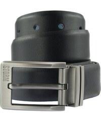 Storm Pánský oboustranný kožený opasek Nelson Reversible Belt Black/Blue STGIF73